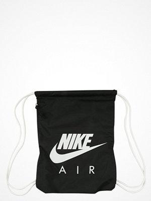 Sport & träningsväskor - Nike Sportswear HERITAGE  Ryggsäck black/white