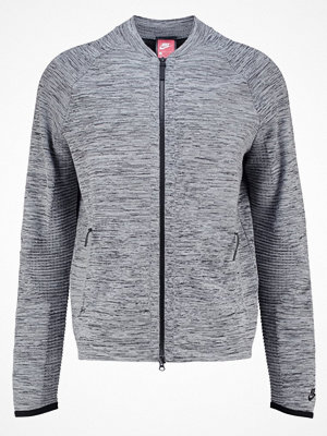 Street & luvtröjor - Nike Sportswear TECH Sweatshirt carbon heather/black