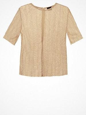 Selected Femme SFNUNE Tshirt bas gold