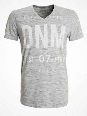 Tom Tailor Denim Tshirt med tryck light grey