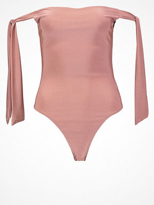 Missguided Tshirt med tryck rose