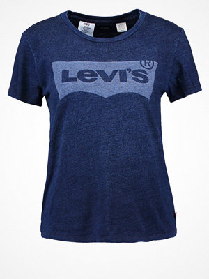 Levi's® THE PERFECT Tshirt med tryck sharpie indigo
