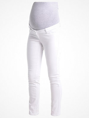 Anna Field MAMA Jeans slim fit white