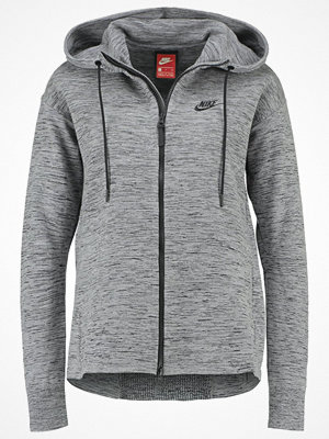 Street & luvtröjor - Nike Sportswear Sweatshirt carbon heather/black/cool grey/black