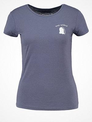 TWINTIP Tshirt med tryck mid blue