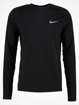 Sportkläder - Nike Performance MILER Tshirt långärmad black/black/reflective silver