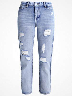 Even&Odd Jeans straight leg light blue denim
