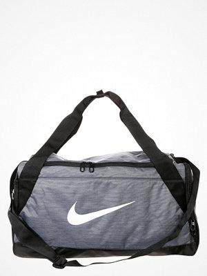 Sport & träningsväskor - Nike Performance BRASILIA Sportväska flint grey/black/white