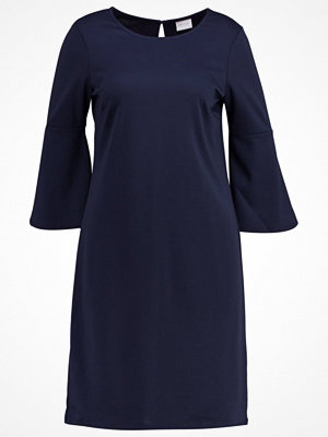 Vila VIRUFFLESLEEVE Jerseyklänning total eclipse