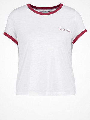 Even&Odd Tshirt med tryck red/white