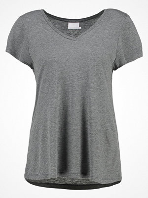Kaffe ANNA Tshirt bas dark grey melange