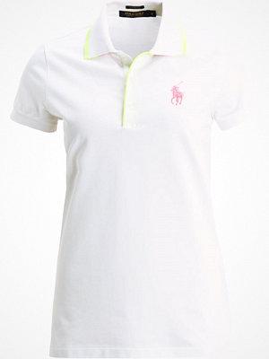 Pikétröjor - Polo Ralph Lauren Golf Piké white/lemon