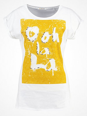 Rich & Royal Tshirt med tryck white