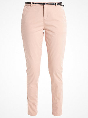Scotch & Soda persikofärgade byxor Chinos blush