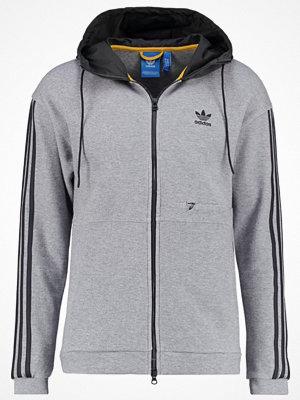Street & luvtröjor - Adidas Originals Sweatshirt mottled grey