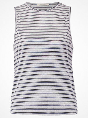 Lee STRIPED TANK Linne grey melange