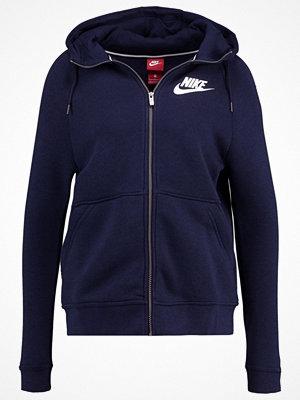 Street & luvtröjor - Nike Sportswear Sweatshirt obsidian/obsidian/white