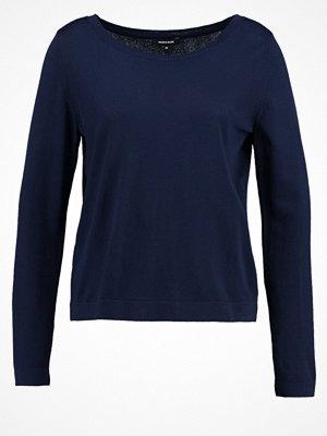 More & More Stickad tröja marine