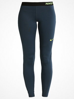 Sportkläder - Nike Performance PRO DRY Tights squadron blue/volt