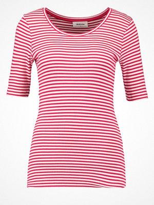 Modström KROWN Tshirt med tryck hot pink/porcelain