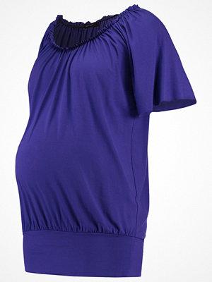 9Fashion MINORE Tshirt med tryck cobalt