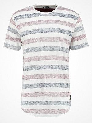 Only & Sons ONSMATT Tshirt med tryck white/cabernet/navy