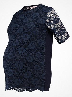 DP Maternity Tshirt med tryck dark blue