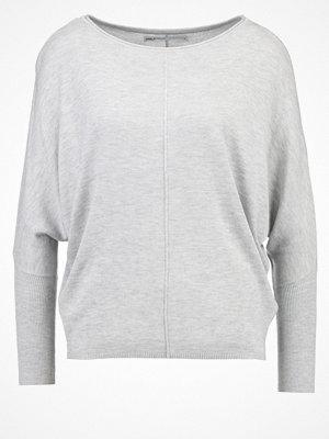 Only ONLCOSY Stickad tröja light grey melange