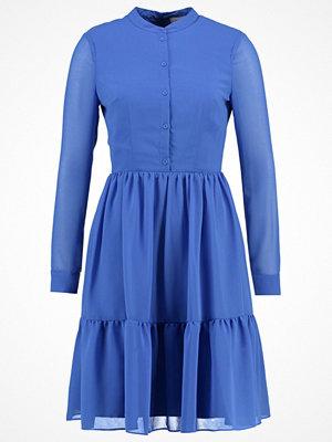 Carolina Cavour Skjortklänning blue