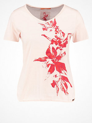 BOSS Orange Tshirt med tryck rose