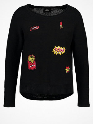 Only ONLKOURTNEY Stickad tröja black