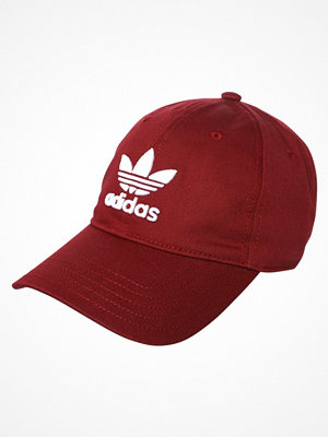 Kepsar - Adidas Originals TREFOIL Keps dark red
