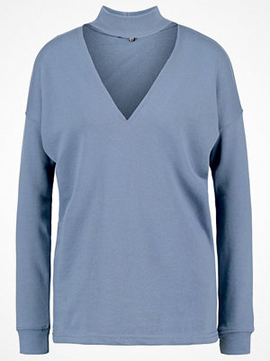 Missguided Sweatshirt blue