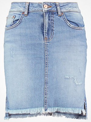 LTB MIRAH Jeanskjol light stone wash