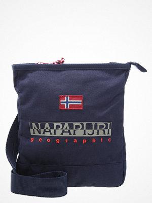 Väskor & bags - Napapijri GREENHOUSE Axelremsväska blue marine
