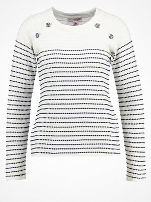 Anna Field Stickad tröja off white/navy