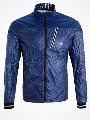 Sportkläder - Diadora WIND LOCK  Löparjacka saltire navy