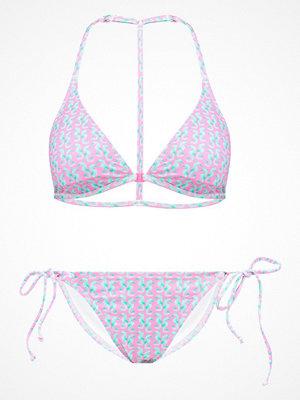 Even&Odd Bikini pink/green