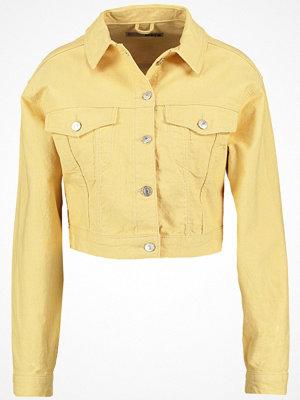 Topshop Jeansjacka yellow