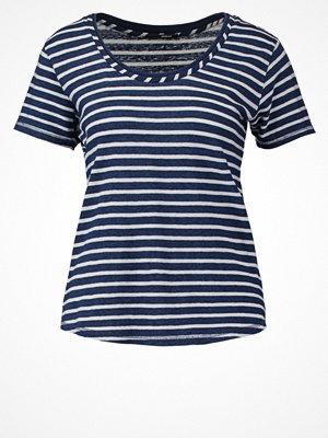Denham ROUTE Tshirt med tryck indigo