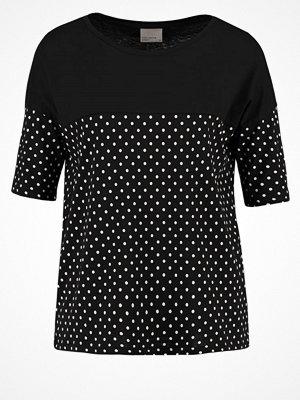 Vero Moda VMMAGGIE Tshirt med tryck black/snow white