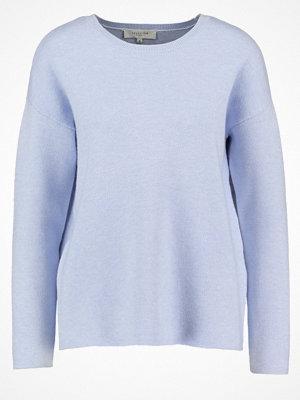 Selected Femme SFMINNIE TANJA O NECK Stickad tröja xenon blue