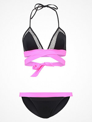 TWINTIP Bikini black/pink