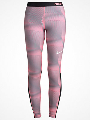 Sportkläder - Nike Performance PYRAMID Tights lava glow/white