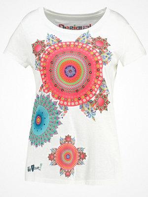 Desigual MARY Tshirt med tryck blanco