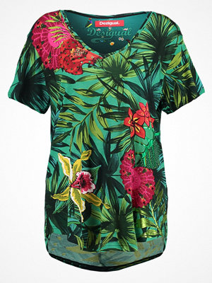 Desigual CARLYLE Tshirt med tryck verde johan