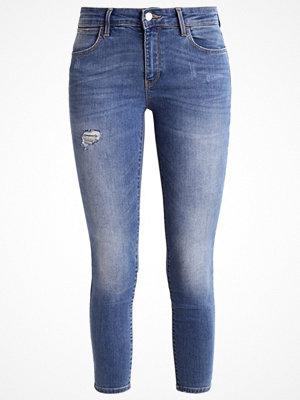 Wrangler Jeans Skinny Fit damaged blue