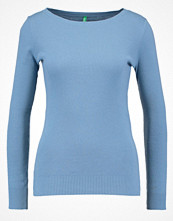 Benetton Stickad tröja light blue