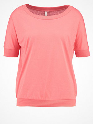 Q/S designed by Tshirt med tryck pink