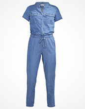 Even&Odd Overall / Jumpsuit mid blue denim